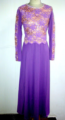 Model Gamis Brokat variasi bordir All size
