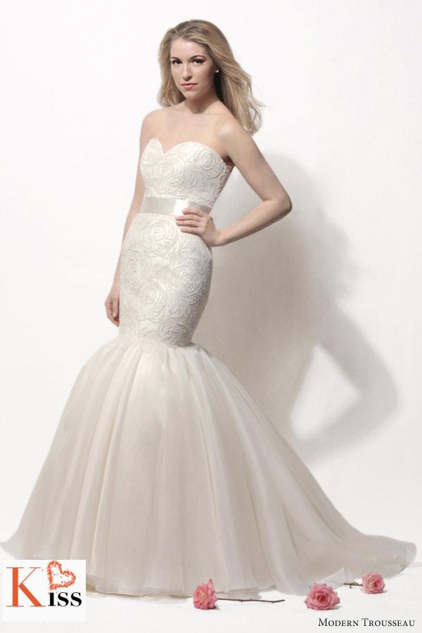 2014 Spring Wedding Dresses From Modern Trousseau