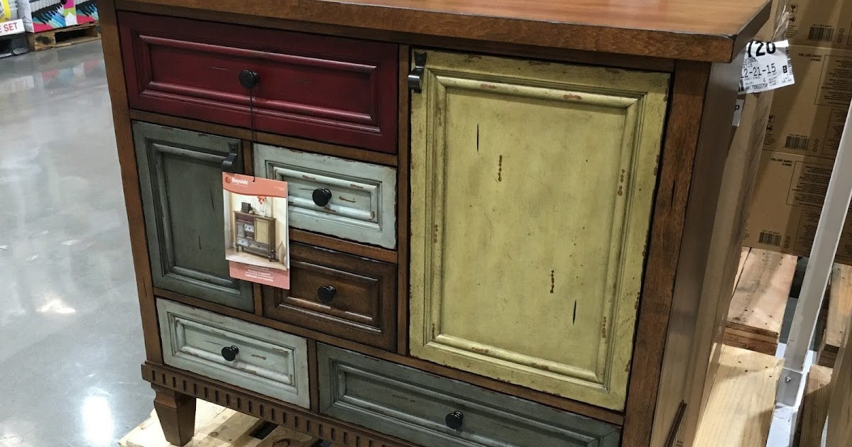 Bayside Furnishings Accent Cabinet   Costco Weekender
