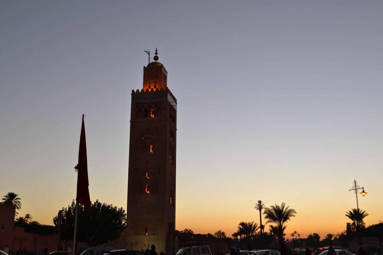 Jemaa El Fna and Les Bains d'Azahara