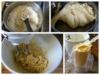 Ägyptische Rezepte - Balah El Sham - Zubereitung - Brandteig