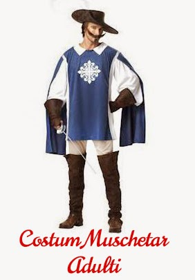 Costum Muschetar Adulti