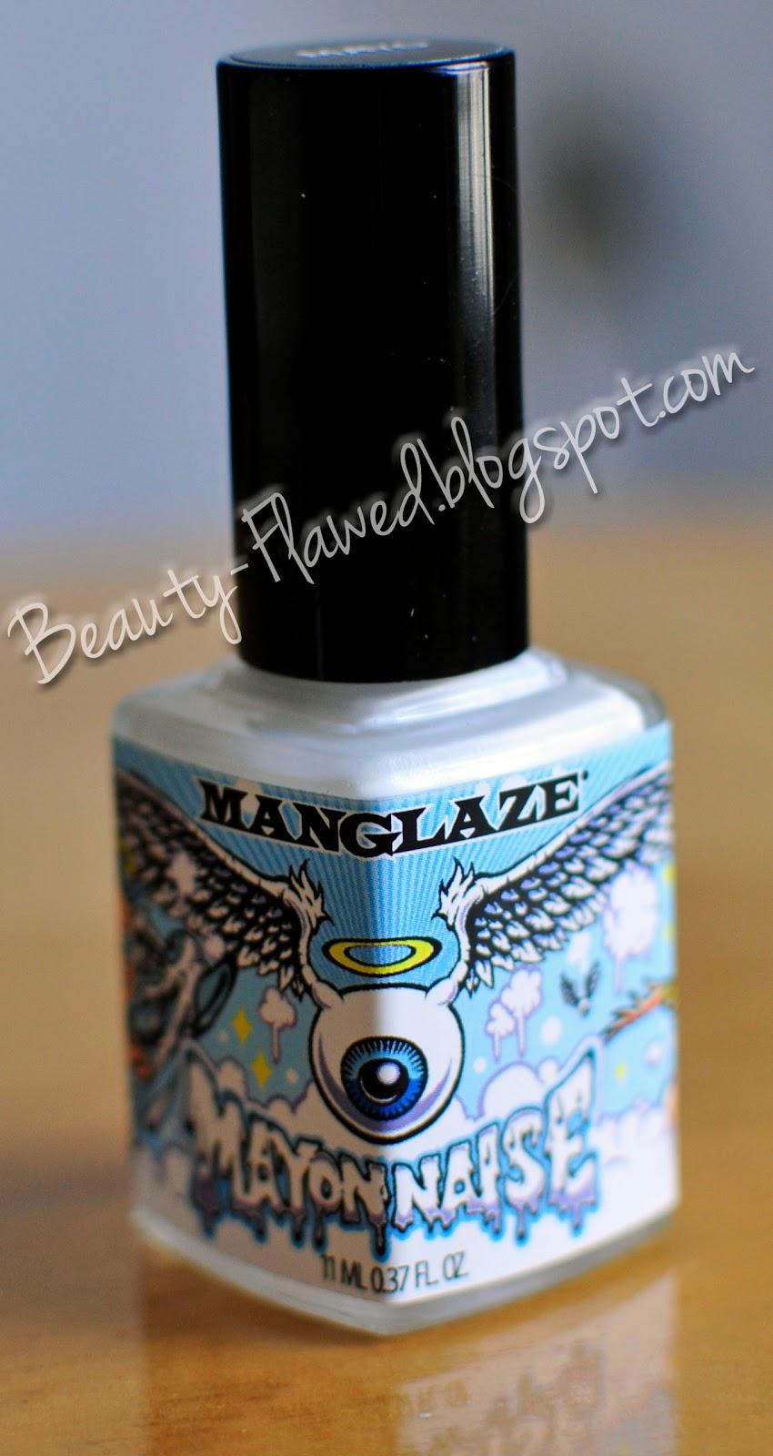 Manglaze Matte Nail Polish Mayonnaise | Beauty Flawed