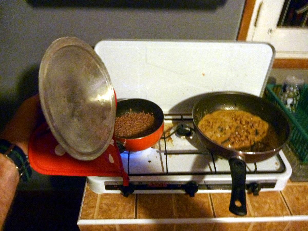 Rice with Wathafakavagot Sauce