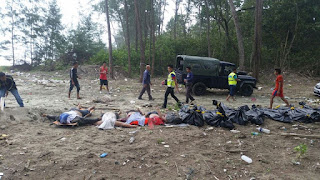 13 Jenazah WNI Penumpang Kapal Tenggelam Ditemukan di Pantai Johor Malaysia