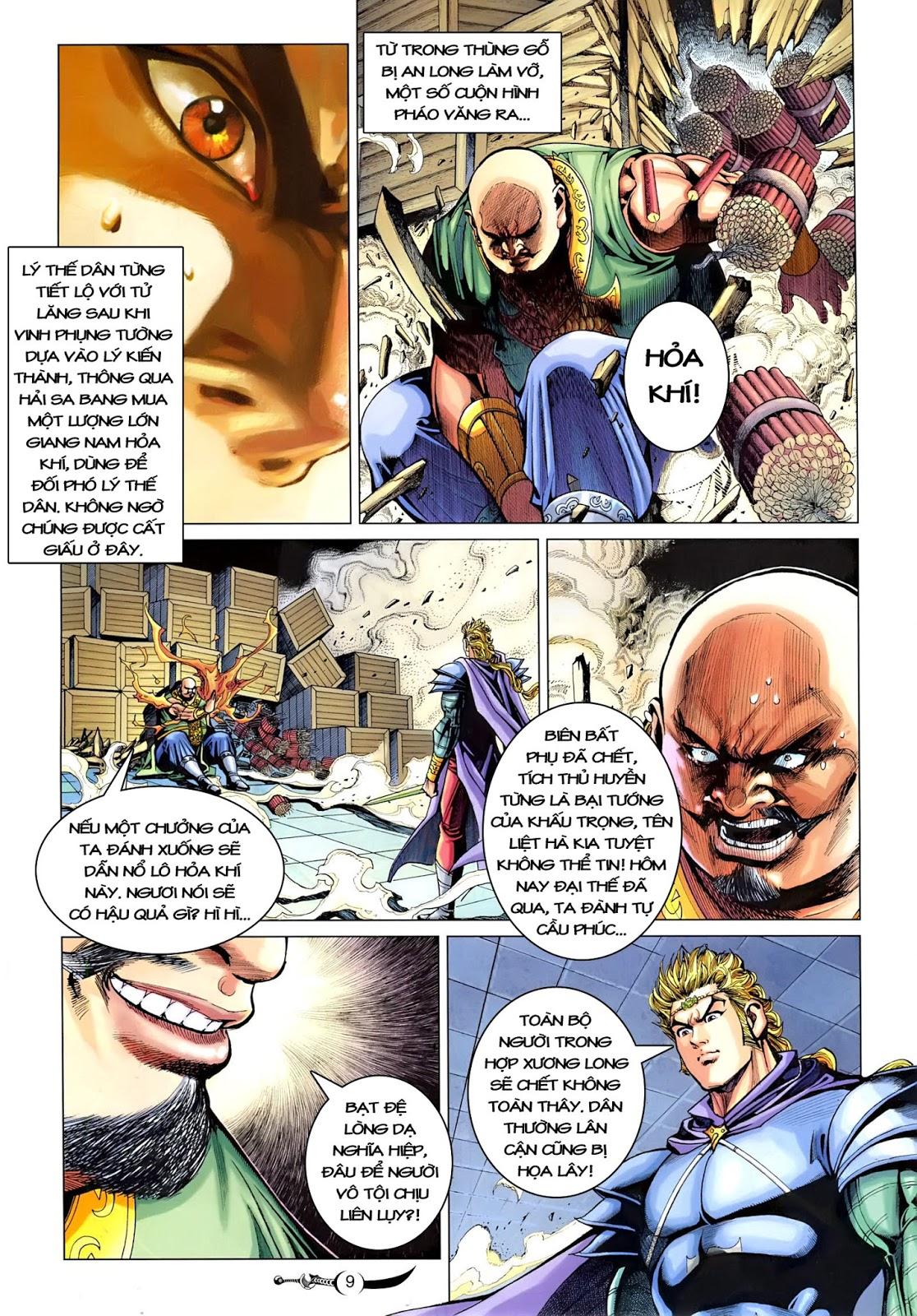 Đại Đường Song Long Truyện chap 218 - Trang 11