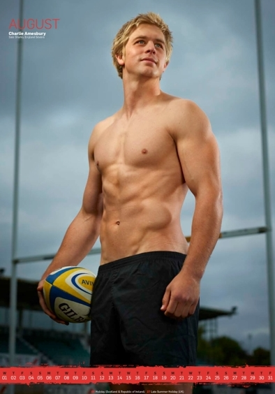 'Rugby's Finest' - 2012 • Charlie Amesbury • Rugby Union Player