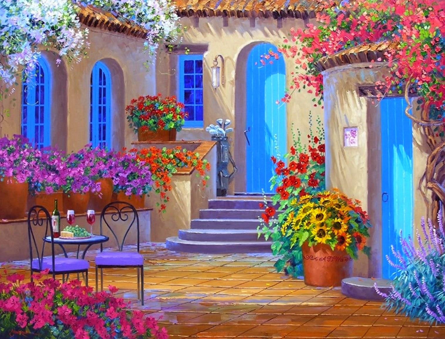 paisajes-con-flores-espatula-oleo