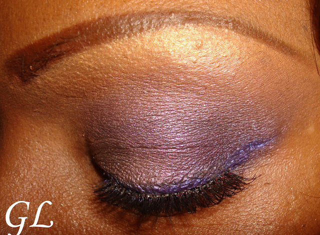 Purples from Urban Decay Vice Palette