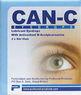 Can-c eye drops for cataract