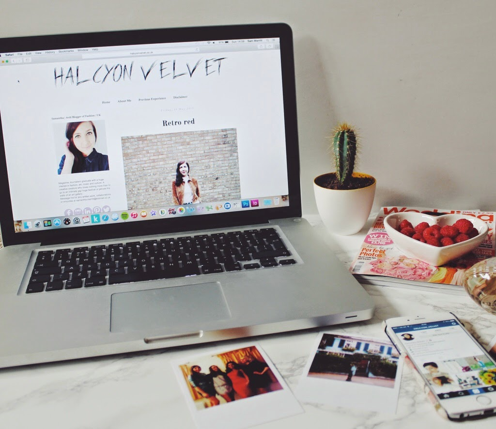 bloggingandworking, halcyonvelvet, blogging, hobby, bloggingasahobby, workingfulltime, macbook, instagram, twitter, facebook, socialmedia