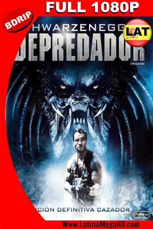 Depredador (1987) Latino Full HD BDRIP 1080P ()