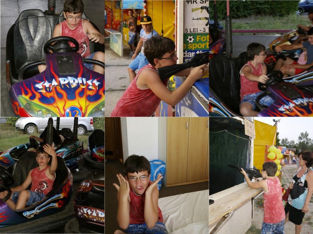 activităţi în concediul din Saturn 2014 - imagini din parcul de distracţie