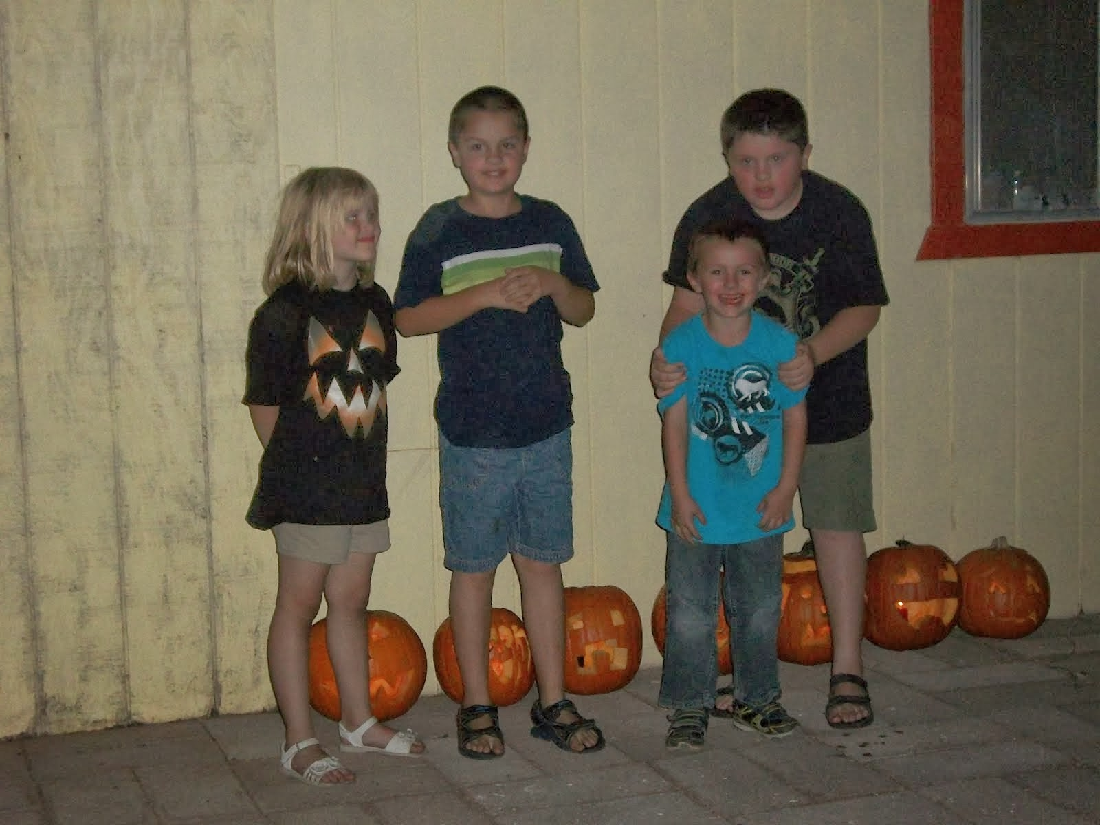 Grands with Jack-o-lanterns