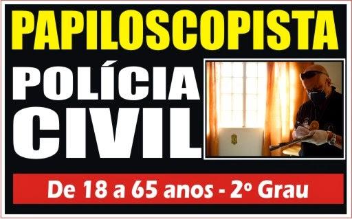 PAPILOSCOPIA POLÍCIA CIVIL 2014