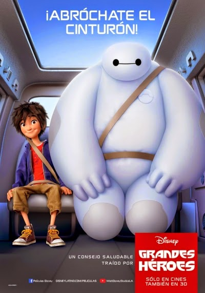 Big Hero 6 (2014) DVDScr + Subtitle Indonesia