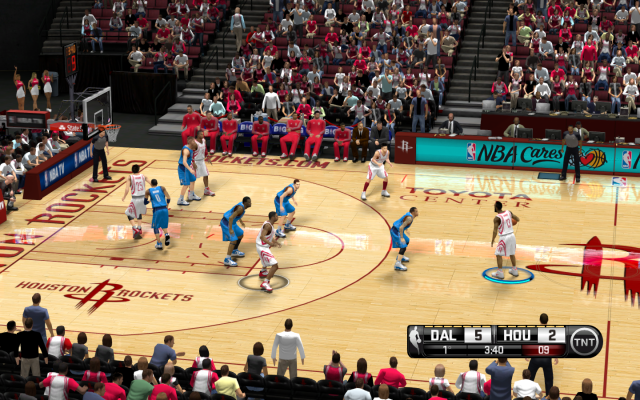 Rockets HD Court | NBA 2K14 PC Mod