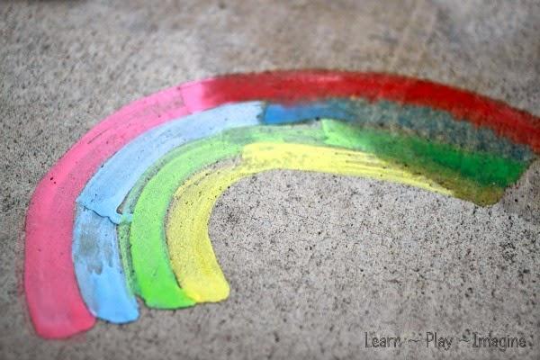 sidewalk chalk paint recipe