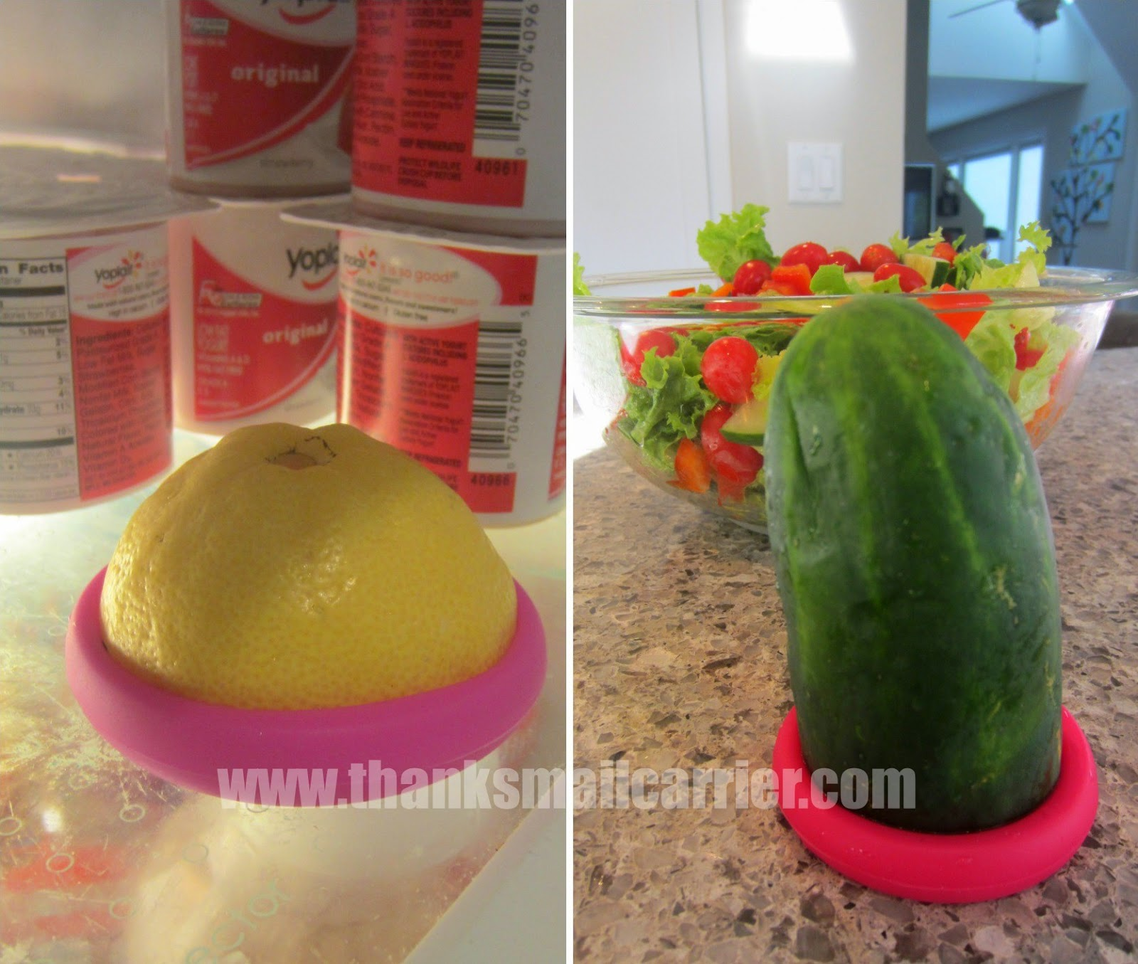 Food Huggers vegetable saver