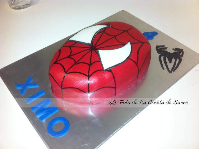 tarta spiderman