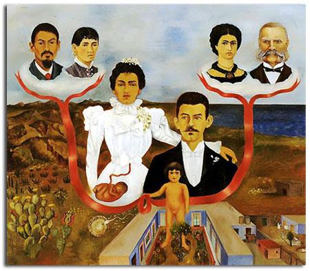 Quadro de Frida Calo