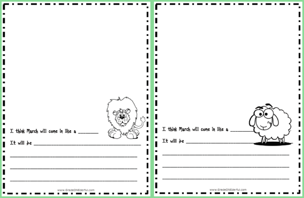 lion writing paper Paper with decorated borders motivate your students to work through the creative writing process by allowing them to publish their work on this fancy bordered writing paper.