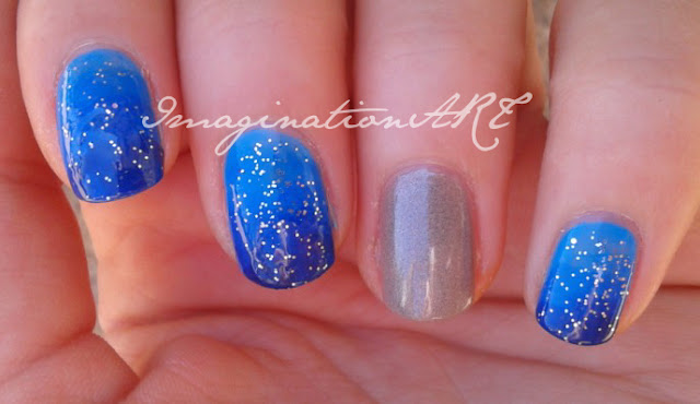 nail art in fondo al mar under the sea