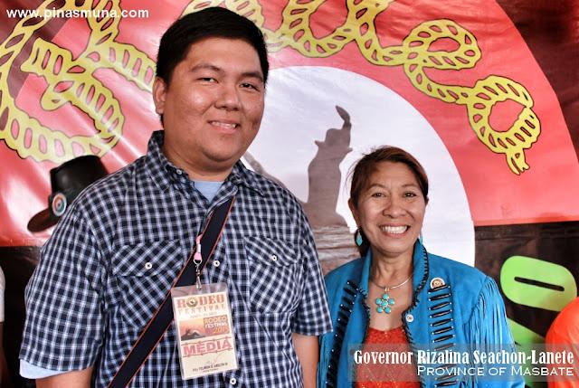 Masbate Governor Rizalina Lanete