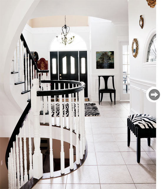 Home tour a classic contemporary home in ottawa modern for Modern home decor ottawa