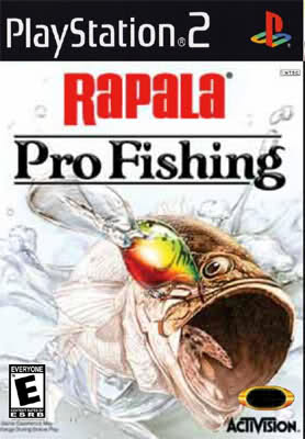 rapala pro fishing ps2 iso