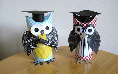 How to make a Graduation Owl