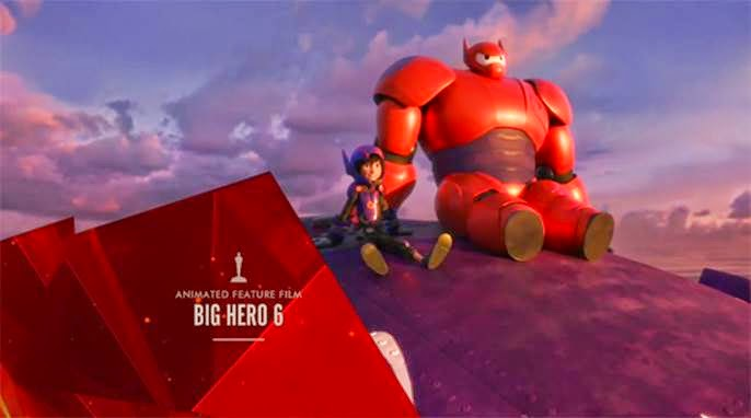 Big Hero 6 best animated feature