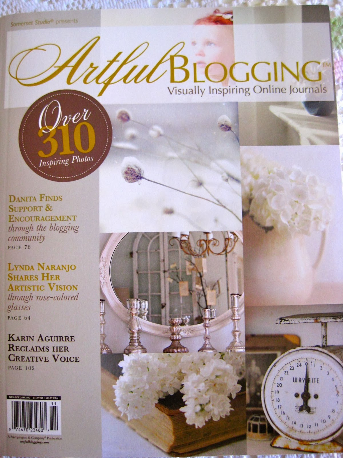 my blog Recognized in this wonderful publication!
