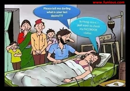 Funious Funny patient