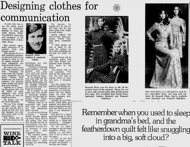 kenneth pirrie newspaper clipping
