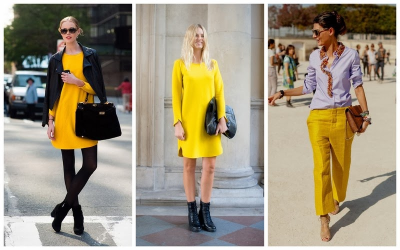 yellow inspiration trend