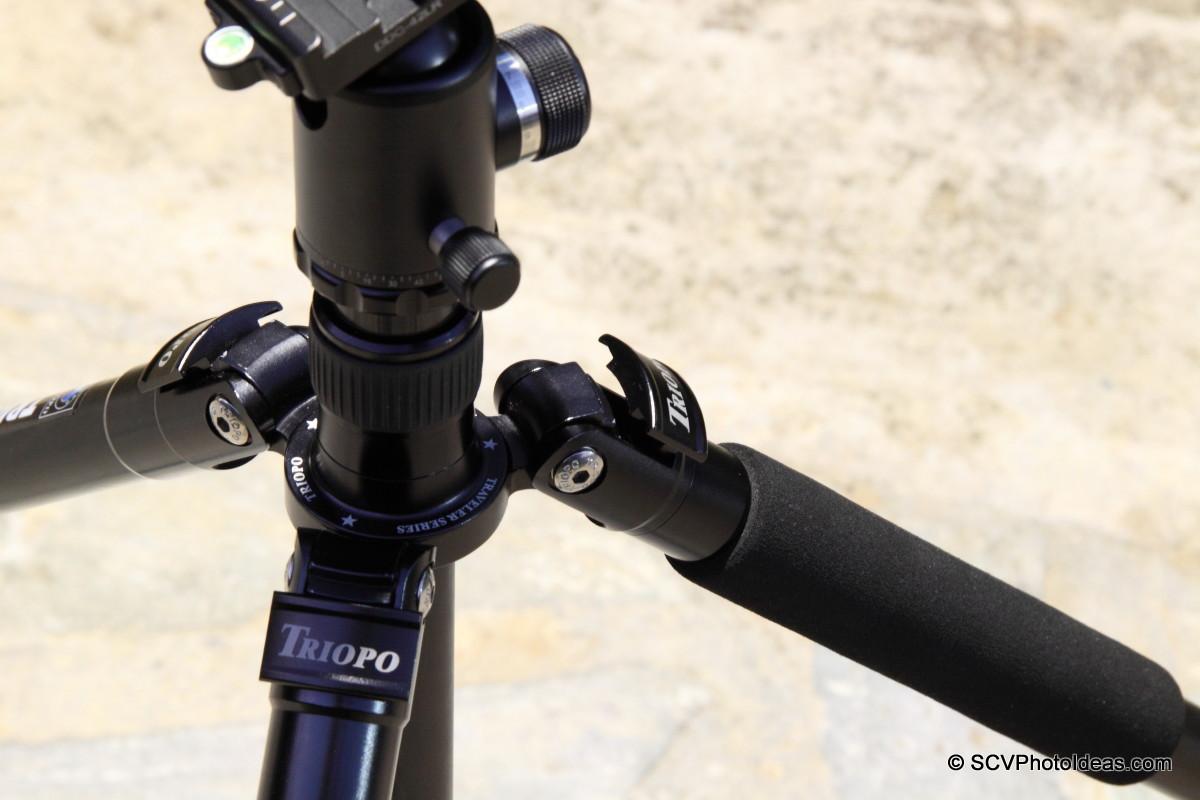 Triopo GT-3228X8C leg angle locks detail