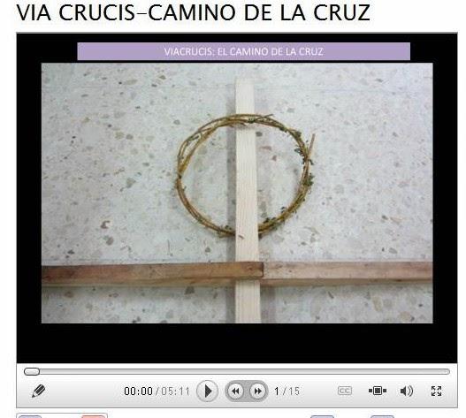 http://www.slideboom.com/presentations/960982/VIA-CRUCIS-CAMINO-DE-LA-CRUZ