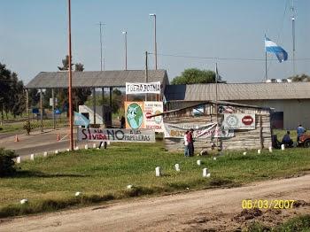 Nuestro refugio en Ruta 135 - Km. 11,5