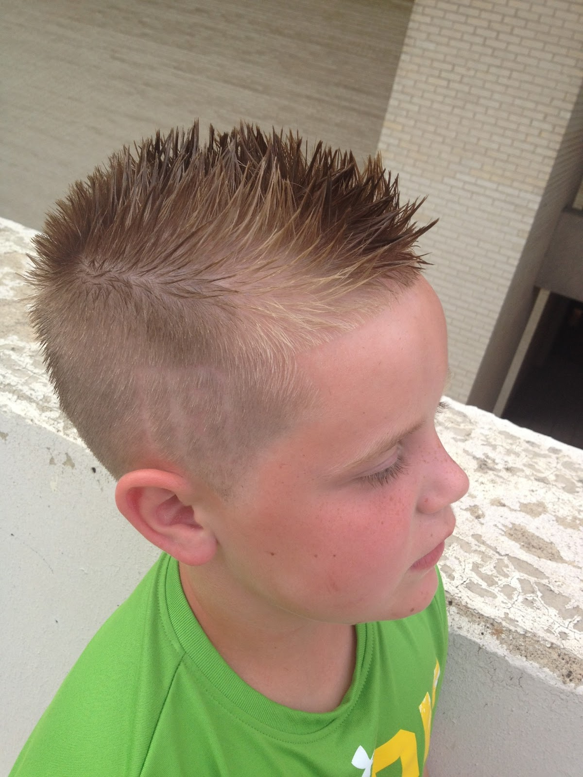Little Boy Mohawks