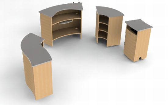 Office Furniture Modular Furniture Manufacturer Satisfies