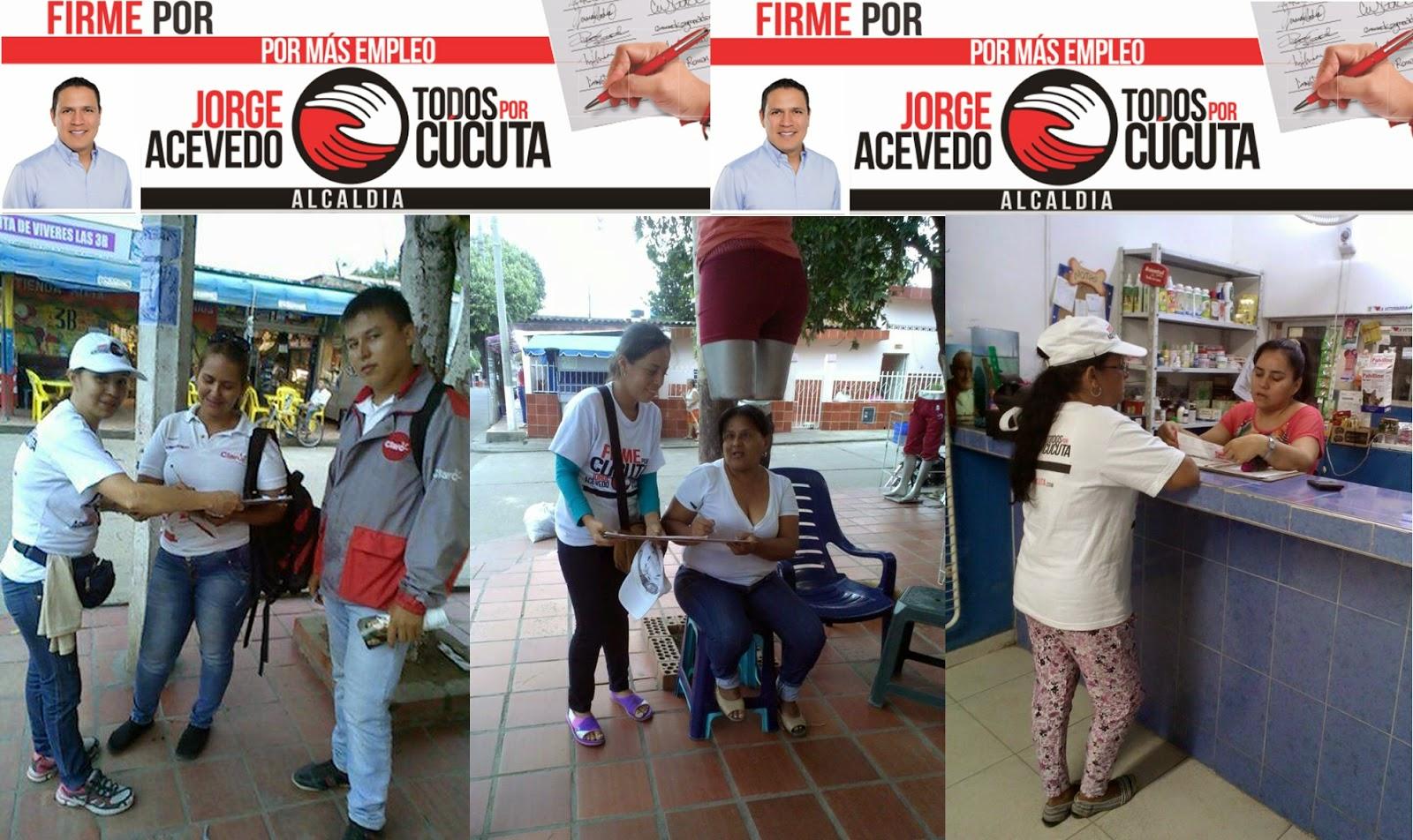 Comprobado! Jorge Acevedo recibe todo el apoyo de los cucuteños