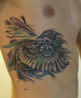 Cool Bird tattoo