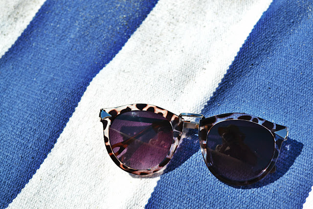 sunglasses, in style, summer, stripes, oasap, accessories, seattle, fleur d'elise