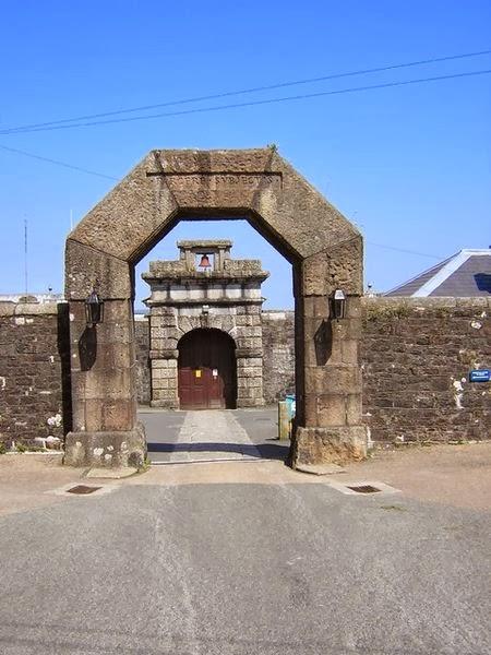Entrance to Dartmoor Prison