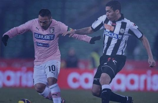 Udinese-Palermo 1-1