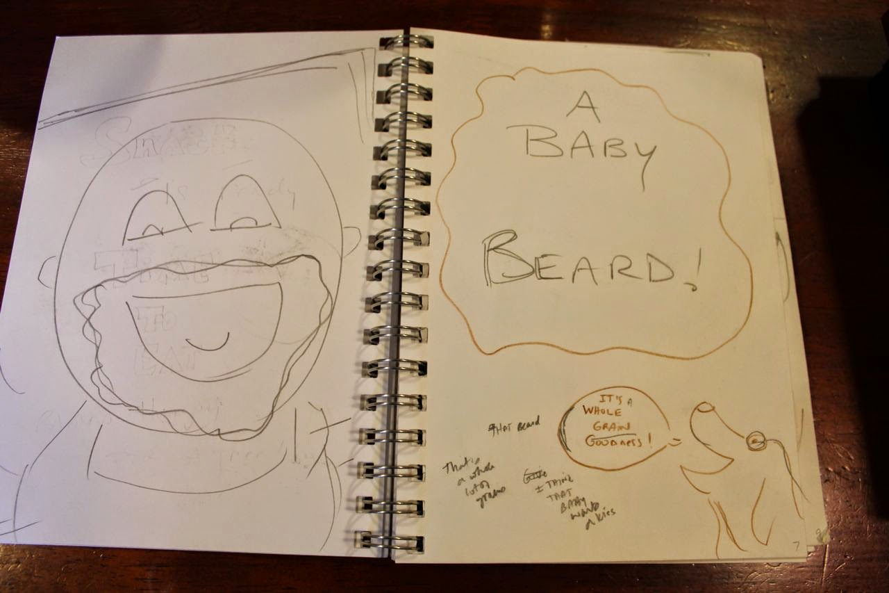 Dummy Book for Baby Beards! via www.ericvr.com