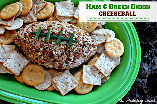 ham and green onion cheese recipe, Super Bowl food ideas