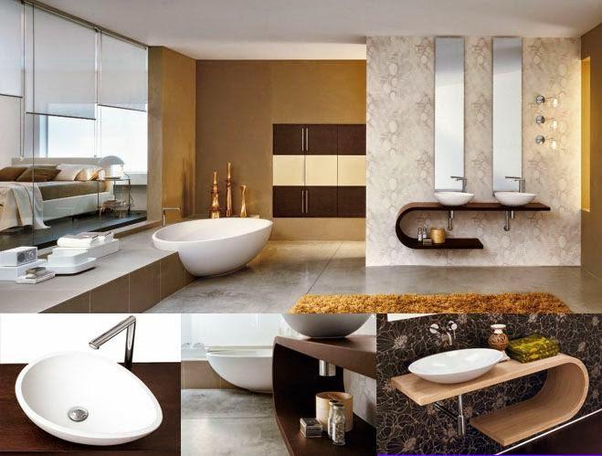Banheiros modernos  19 modelos Confira!  Decor Alternativa # Banheiros Modernos Atuais