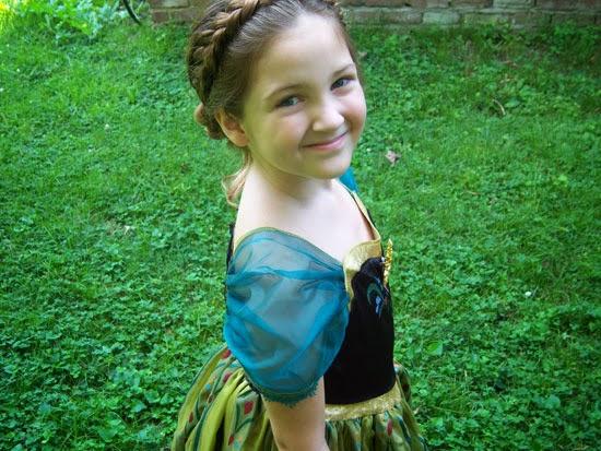 Disney Frozen Costume: Anna's Coronation Gown